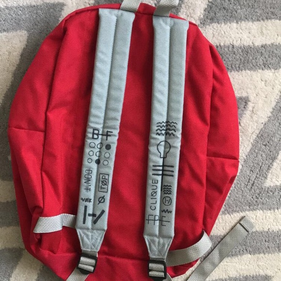 50bd248f81 American Apparel Handbags - TWENTY ONE PILOTS red backpack